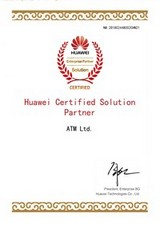 «Huawei Certified Solution Partner», NO 201802448002CHN21